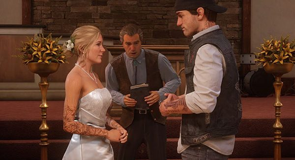 Days Gone 'Sarah and Deacon's Wedding' trailer