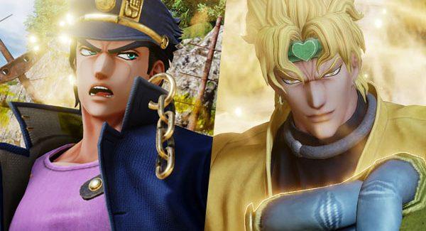 Jotaro Kujo e Dio em novo trailer para Jump Force