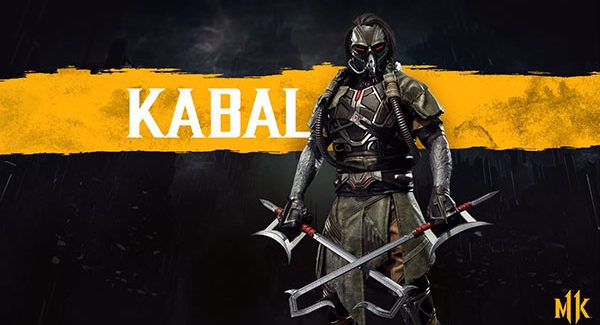 Kabal é o novo personagem de Mortal Kombat 11