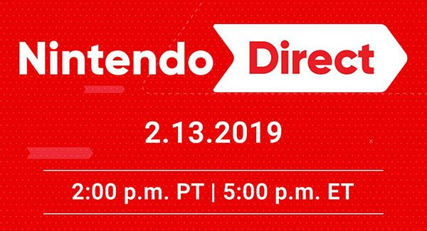 Nintendo Direct anunciado para o dia 13 de Fevereiro às 20 horas