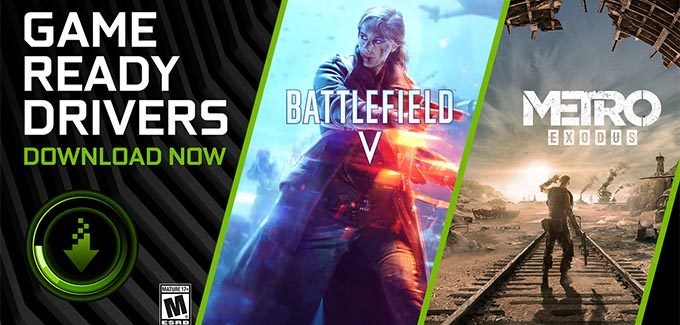 Battlefield V e Metro Exodus ganham recursos exclusivos para GeForce RTX