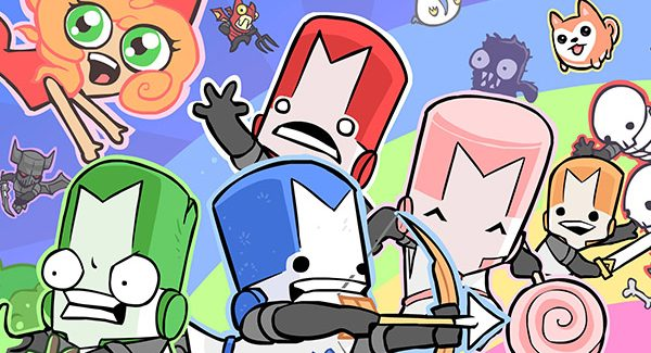 Castle Crashers Remastered chegando ao PS4 e o Switch