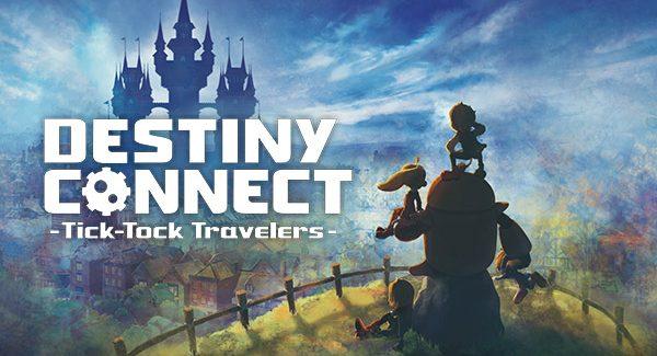 Destiny Connect: Tick-Tock Travelers chegará ao ocidente nesta Primavera