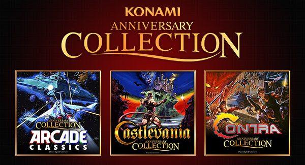 Konami 50th Anniversary Arcade Classics, Castlevania e Contra Collections anunciados