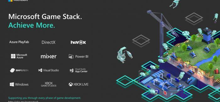 Microsoft anunciou Game Stack, uma plataforma de desenvolvimento com suporte para Switch e PlayStation 4