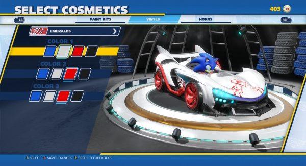 Confira o novo trailer de customização de Sonic Team Racing