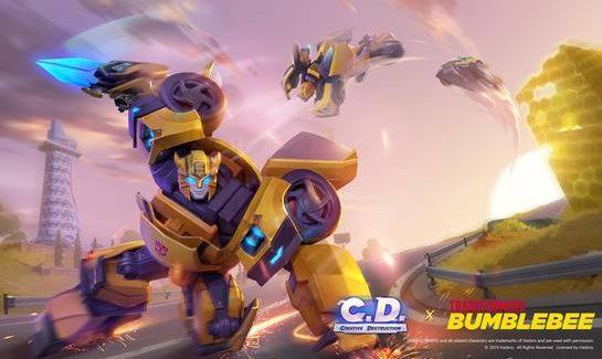 Creative Destruction ganha participação de Bumblebee