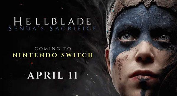 Hellblade: Senua's Sacrifice será lançado para o Switch dia 11 de Abril