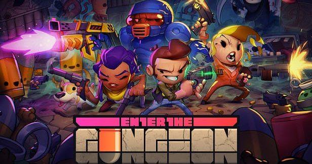 'Enter the Gungeon: A Farewell to Arms' Já Disponível