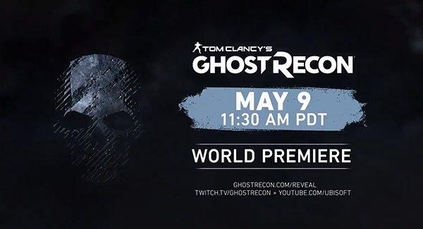 Anúncio relacionado a Ghost Recon será feito no dia 9 de Maio