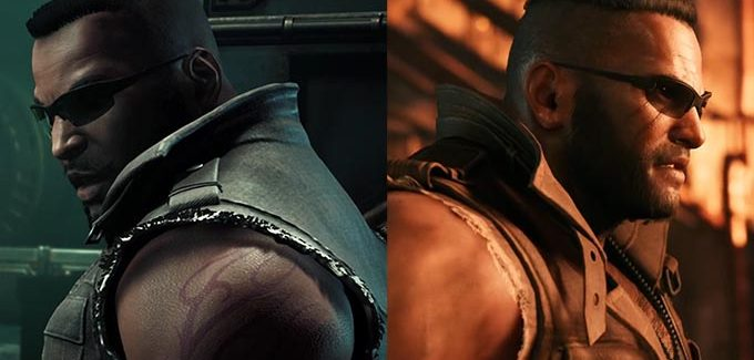 Comparativo dos trailers do remake de Final Fantasy VII