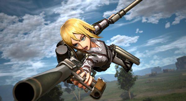Confira novos detalhes das armas de Attack on Titan 2: Final Battle