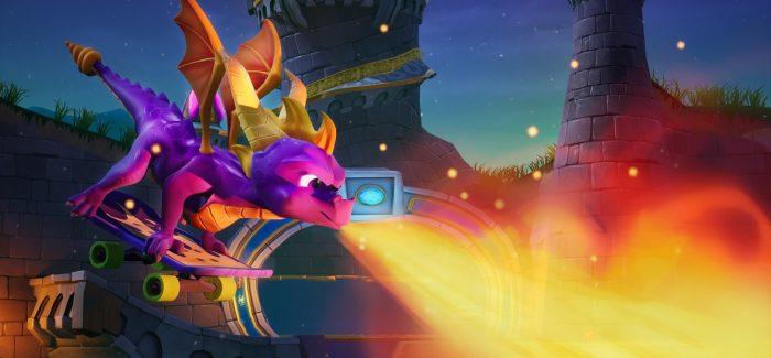 Spyro Reignited Trilogy anunciado para o Nintendo Switch e PC
