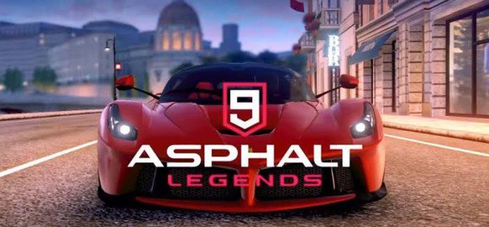 Asphalt 9: Legends será lançado para o Nintendo Switch ainda esse ano