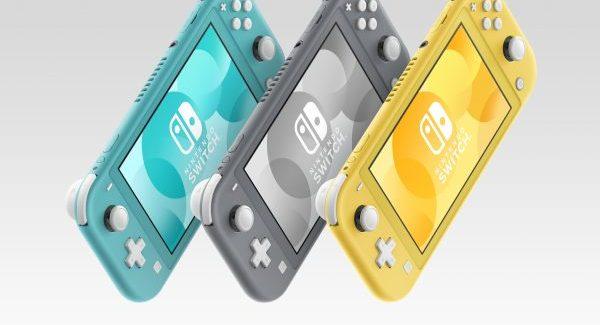 Nintendo Switch Lite é anunciado por U$199