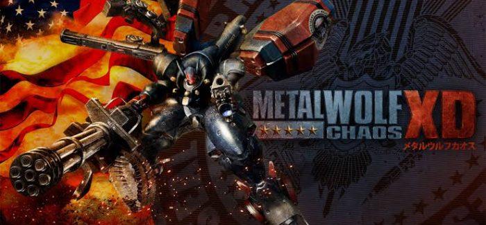 Metal Wolf Chaos XD será relançado em 6 de agosto