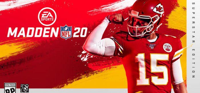 EA Sports Madden NFL 20 já está disponível
