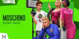 Liberte o seu fashionista interior com The Sims 4: Moschino Stuff Pack para PC