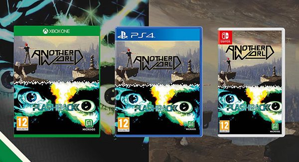 Another World and Flashback Collection anunciado para PlayStation 4, Xbox One e Switch