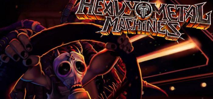 Heavy Metal Machines oferece descontos em 40 itens para a Black Friday