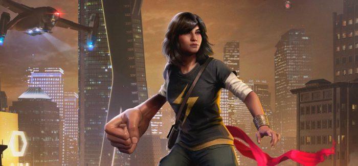 Ms. Marvel ganha trailer em Marvel's Avengers