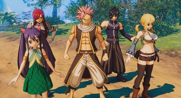 Fairy Tail recebe vídeos com primeiras impressões do gameplay