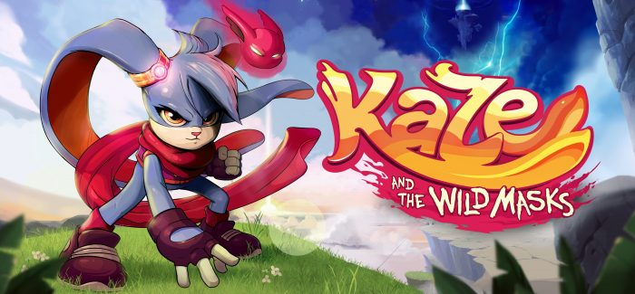 Kaze and the Wild Masks novo plataforma estilo 16 bits