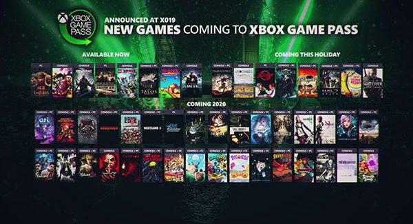 Xbox Game Pass: novos jogos disponíveis agora e futuros anúncios