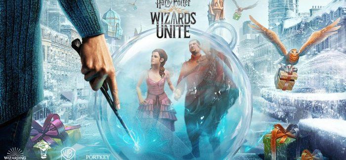 Comemore as festividades em Harry Potter: Wizards Unite