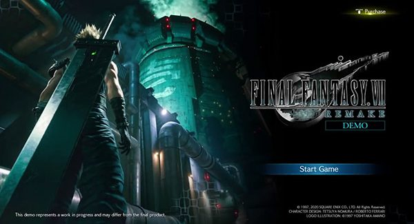 Confira a cena de abertura do Demo de Final Fantasy VII Remake