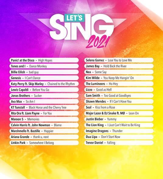 Sing 2021